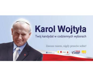 Jan Paweł Ii W Garniturze Centrum Myśli Jana Pawła Ii