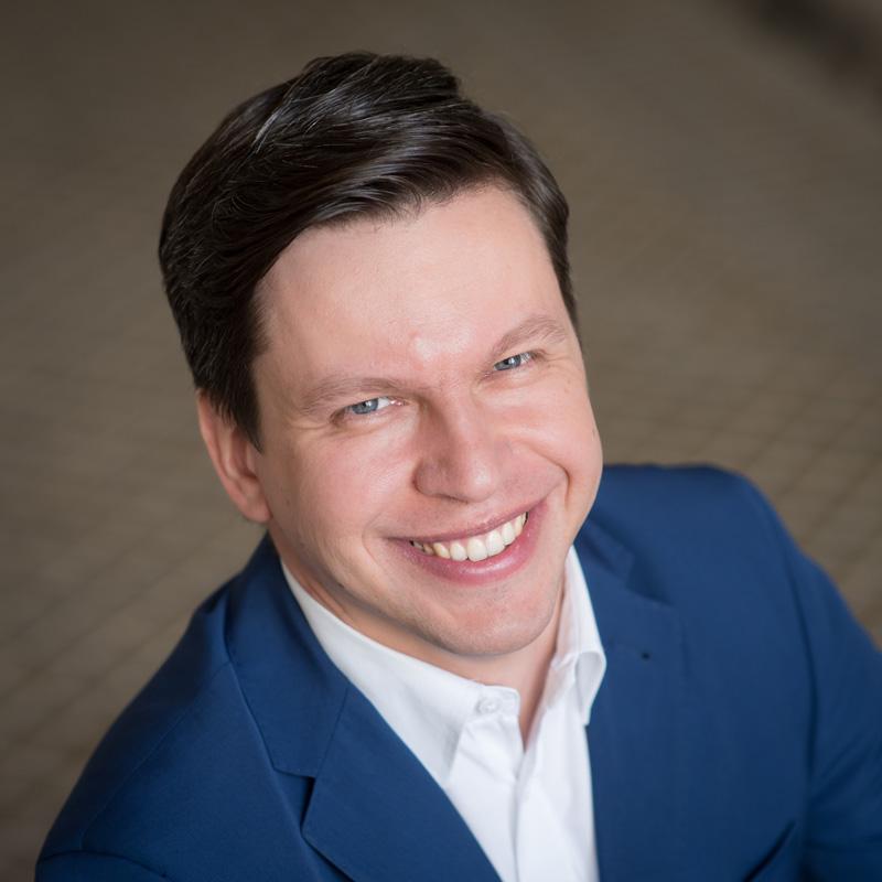 Michał Senk, dyrektor Centrum Myśli Jana Pawła II