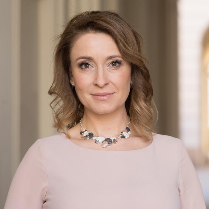 Joanna Korzeniewska, rzecznik prasowy Centrum Myśli Jana Pawła II