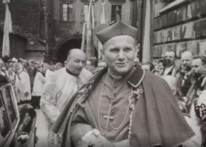 Karol Wojtyła podczas obchodów Milenium Chrztu Polski