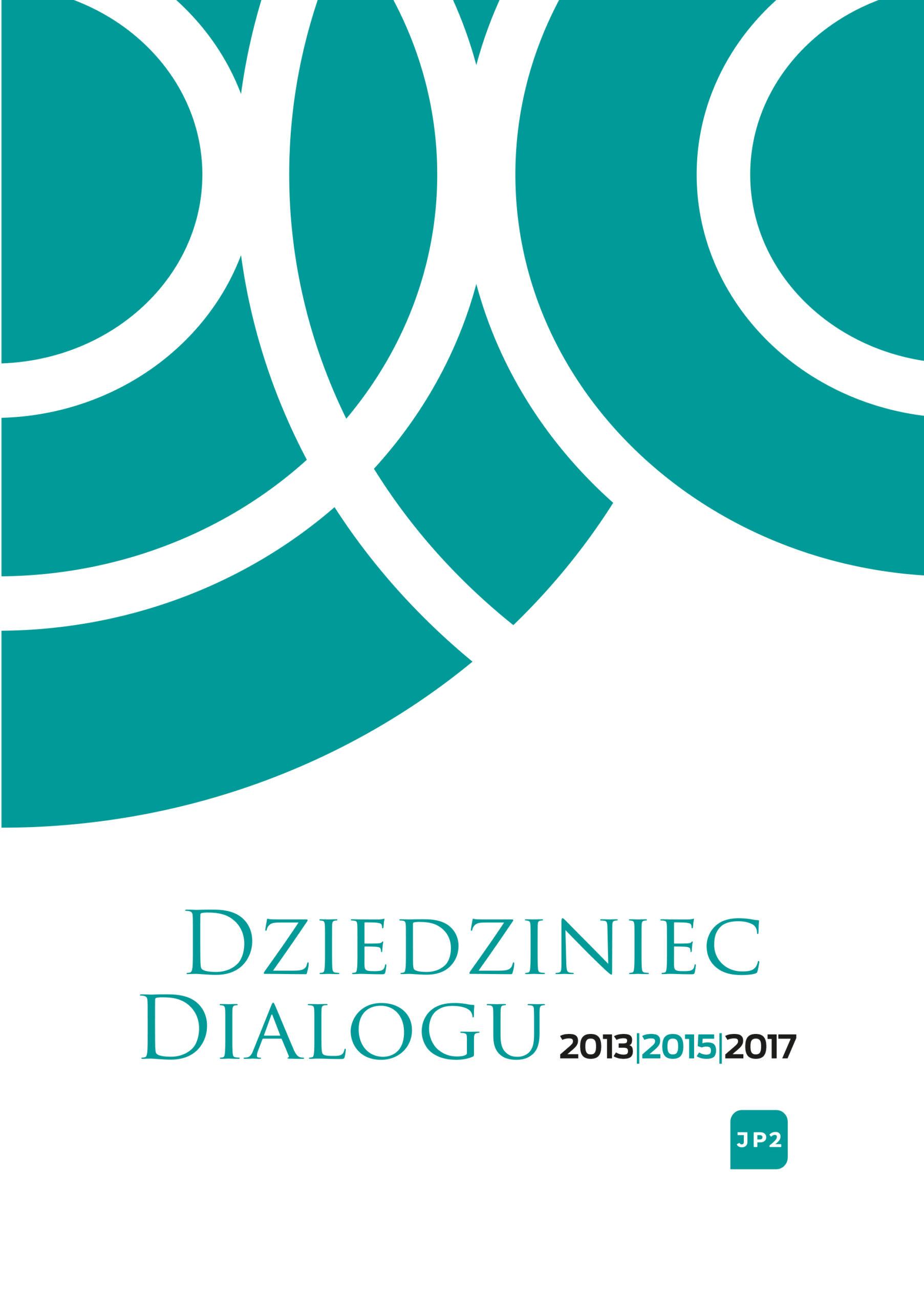 Dziedziniec Dialogu - okładka