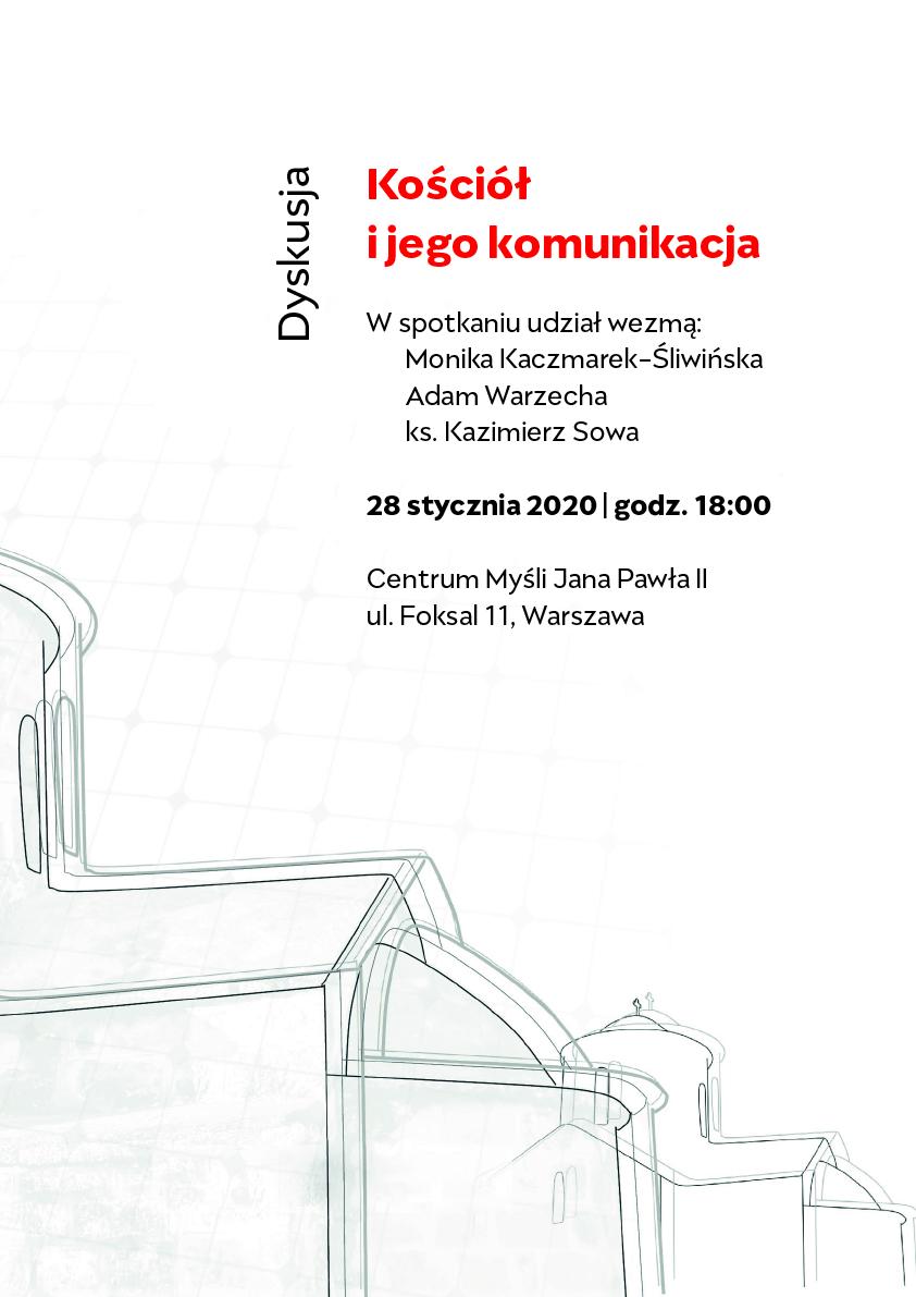 plakat Kościół i jego komunikacja