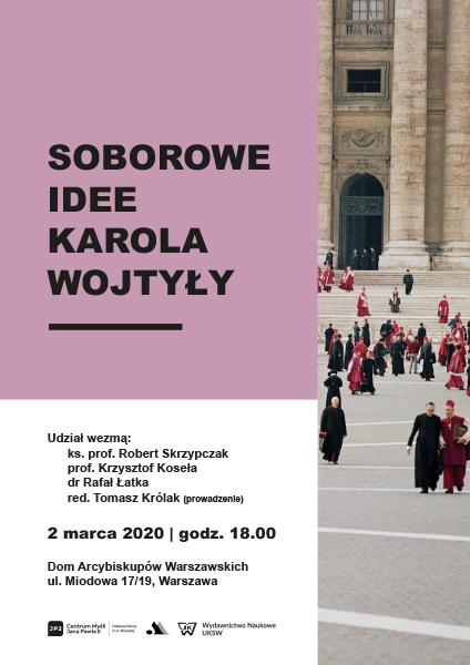 Soborowe idee Karola Wojtyły - plakat