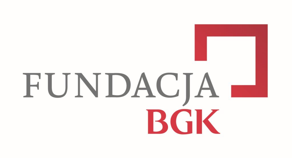 "napis ""fundacja bgk"""